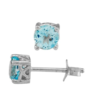 Haven Park Blue Cubic Zirconia Earrings