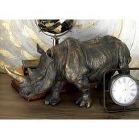 Sturdy & Exclusive Rhino Figurine