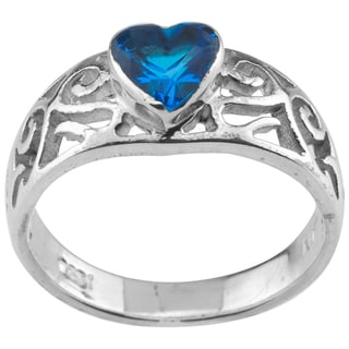 Haven Park Petite Heart-Shaped Solitaire
