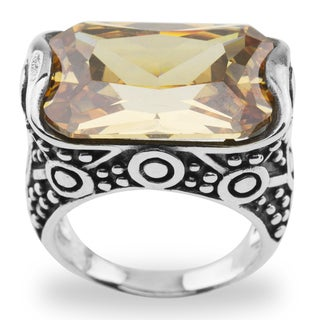 Haven Park Sterling Silver Cubic Zirconia Ring