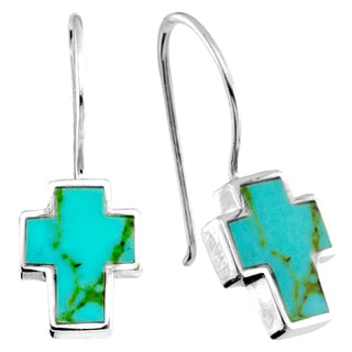 Haven Park Turquoise Cross Earrings