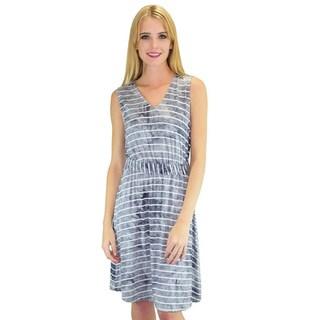 Relished Women's Louvre Rayon/Spandex Sleeveless Dress