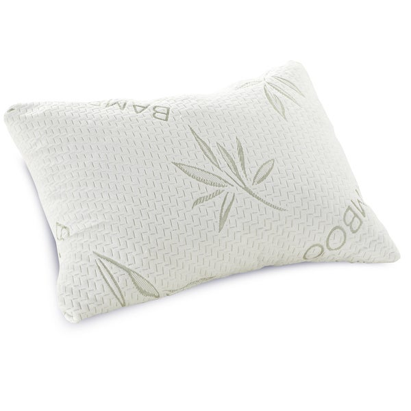 PostureLoft Chiara Shredded Memory Foam Pillow with Plush Rayon from Bamboo Cover