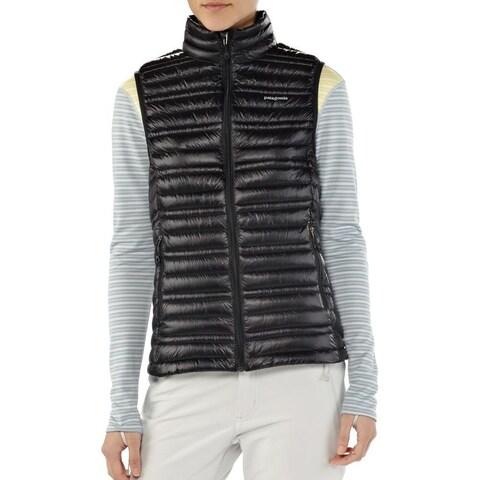 Patagonia Women's Black Down Ultralight Water Repellent Puffer Vest