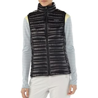 Patagonia Women's Black Down Ultralight Water Repellent Puffer Vest