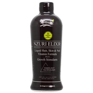 Nzuri Elixir Liquid 32-ounce Hair Vitamin with Growth Stimulants