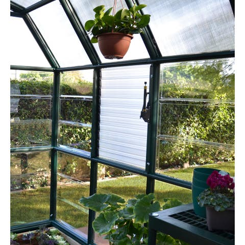 Palram Rion Clear Plastic Side Louver Window