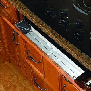 Rev-A-Shelf 6581 Series 31-inch Stainless Steel Tip-out Tray
