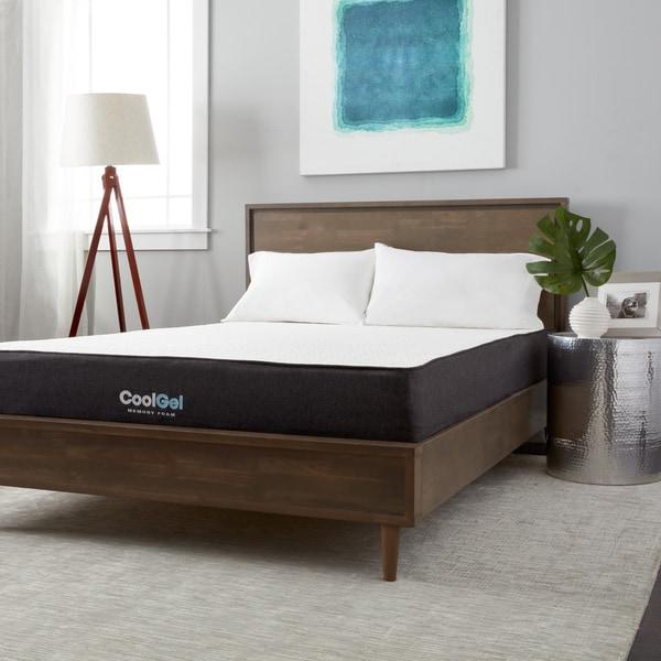 postureloft dahlia 105inch fullsize cool gel memory foam mattress