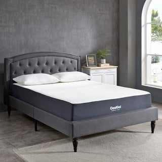 PostureLoft 10.5-inch Twin XL-size Ventilated Gel Memory Foam Mattress