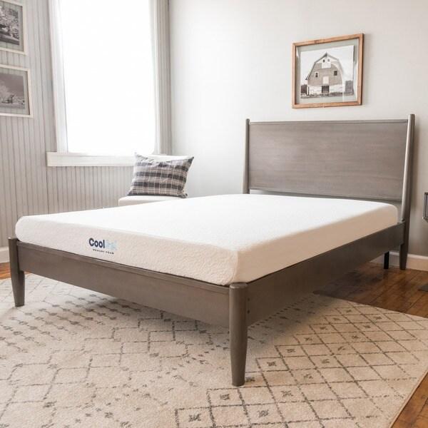shop postureloft 6 inch full size ventilated gel memory foam mattress on sale free shipping. Black Bedroom Furniture Sets. Home Design Ideas