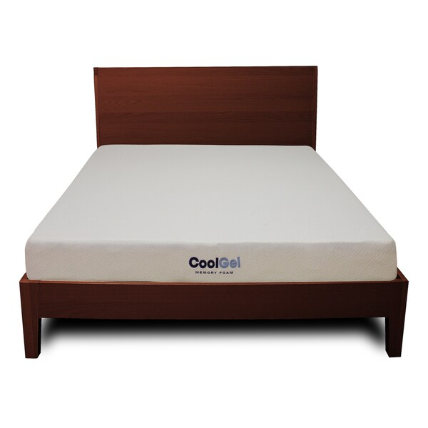 Postureloft 6 Inch Twin Size Ventilated Gel Memory Foam Mattress Free Shipping Today