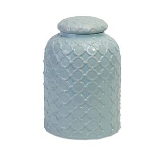 Robin's Egg Blue Lidded Jar