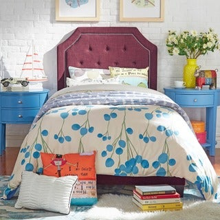 Grace Button Tufted Arched Bridge Twin-sized Upholstered Bed