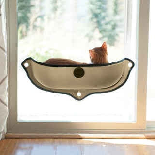 K&H Pet Products EZ Mount Window Cat Bed Kitty Sill