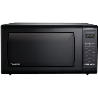 Panasonic NN-SN736B 1.6-cubic foot 1250-watt Genius Sensor Black Countertop Microwave Oven with Inverter Technology