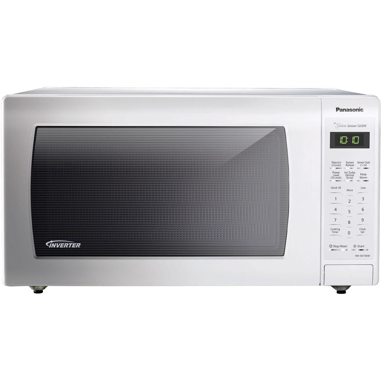 Panasonic NN-SN736W White 1.6 cubic feet 1250-watt Genius...