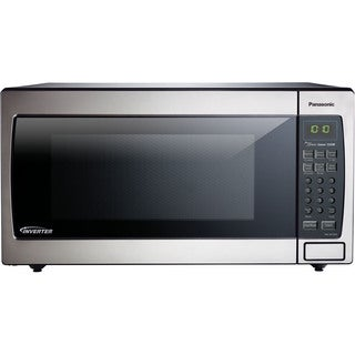 Panasonic NN-SN766S 1.6-cubic foot 1250-watt Genius Sensor Microwave Oven with Inverter Technology