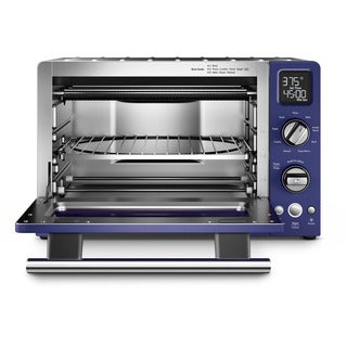 KitchenAid KCO275BU Cobalt Blue Variable Temperature Control Digital Countertop Convection Oven