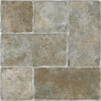 Achim Sterling Cottage Stone 12x12 Self Adhesive Vinyl Floor Tile - 20 Tiles/20 sq Ft.
