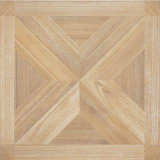 Achim Nexus 20-Piece Maple X Parquet 12x12 Self Adhesive Vinyl Floor Tile (20 Square Feet)