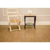 Achim Nexus Oak Parquet 12x12 Self Adhesive Vinyl Floor Tile - 20 Tiles/20 sq. ft.