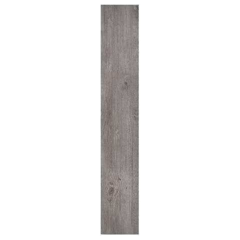 Achim 10-Piece Walnut Wood 6 x 36 Self Adhesive Vinyl Floor Plank - 10 Planks/15 sq Ft.