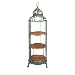 Charlotte Birdcage Shelf - Brown