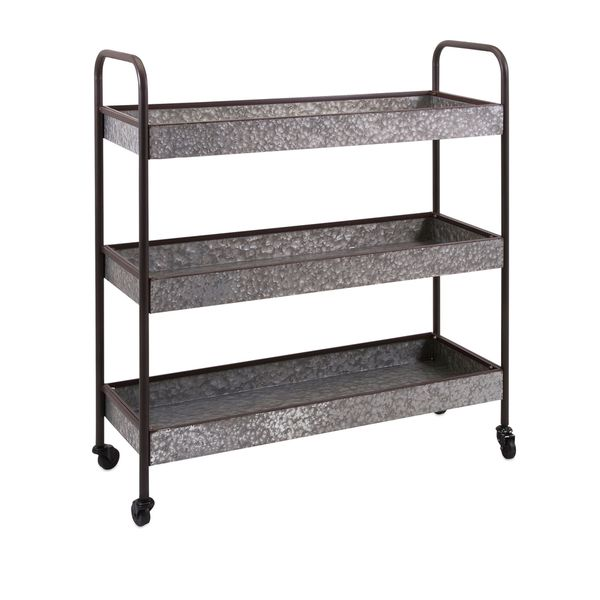 Homestead Galvanized Shelf