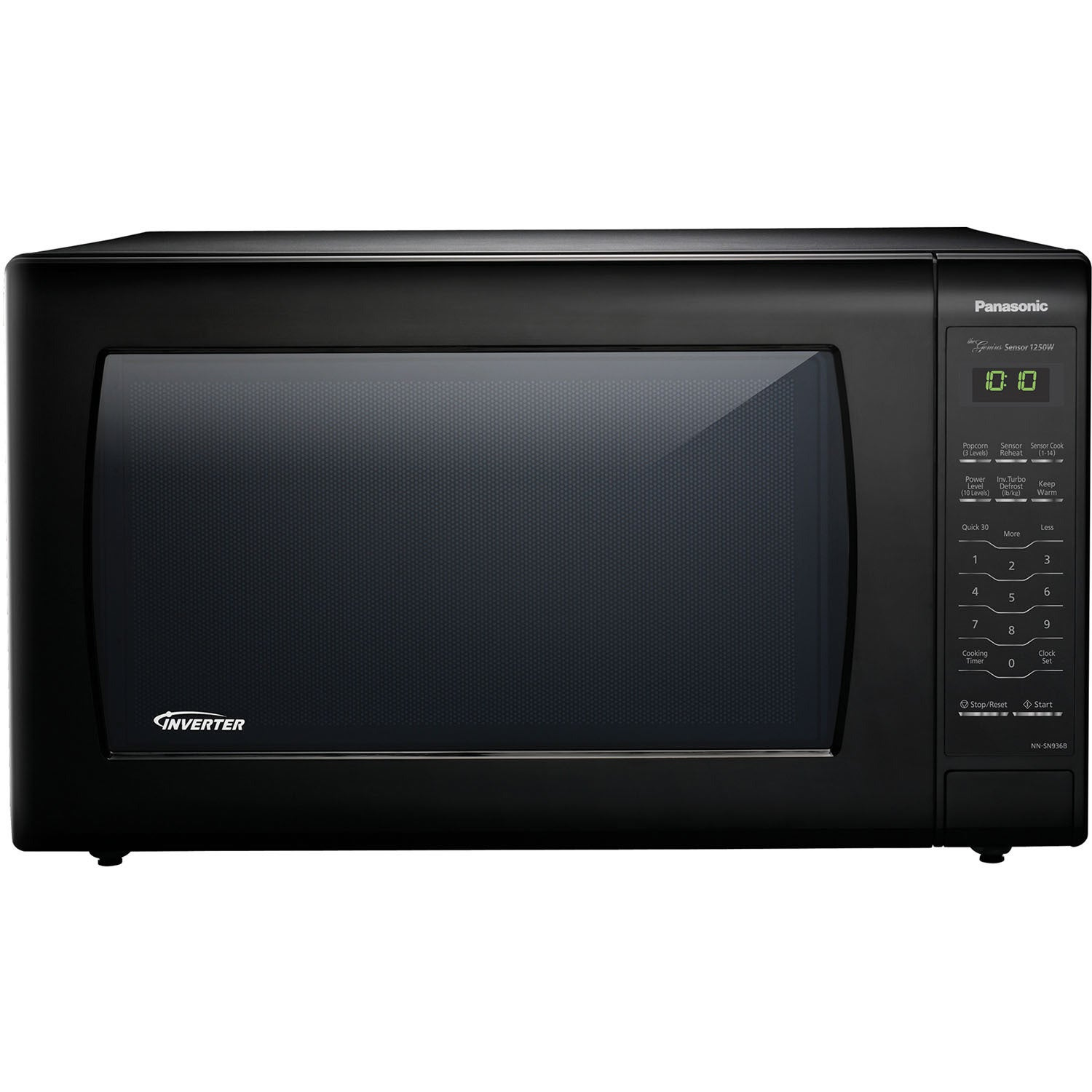 Panasonic NN-SN936B Black 2.2-cubic-foot 1,250-watt Geniu...