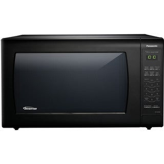 Panasonic NN-SN936B Black 2.2-cubic-foot 1,250-watt Genius Sensor Countertop Microwave Oven With Inverter Technology