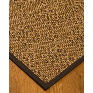 Handcrafted Oslo Natural Sisal Rug - Dark Brown Binding, (9' x 12') with Bonus Rug Pad|https://ak1.ostkcdn.com/images/products/11817527/P18724045.jpg?impolicy=medium