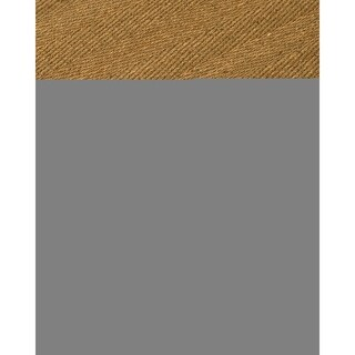 Handcrafted Costa Rica Natural Seagrass Rug - Taupe Binding, (4' x 6') with Bonus Rug Pad