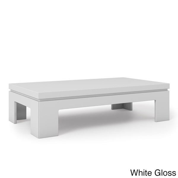 Manhattan Comfort Bridge 2.0 41.65 Inch Modern Accent Side Coffee Table    Free Shipping Today   Overstock.com   18724112