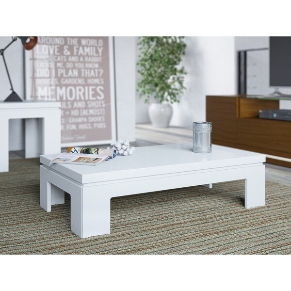 Shop Manhattan Comfort Bridge 20 4165 Inch Modern Accent Side