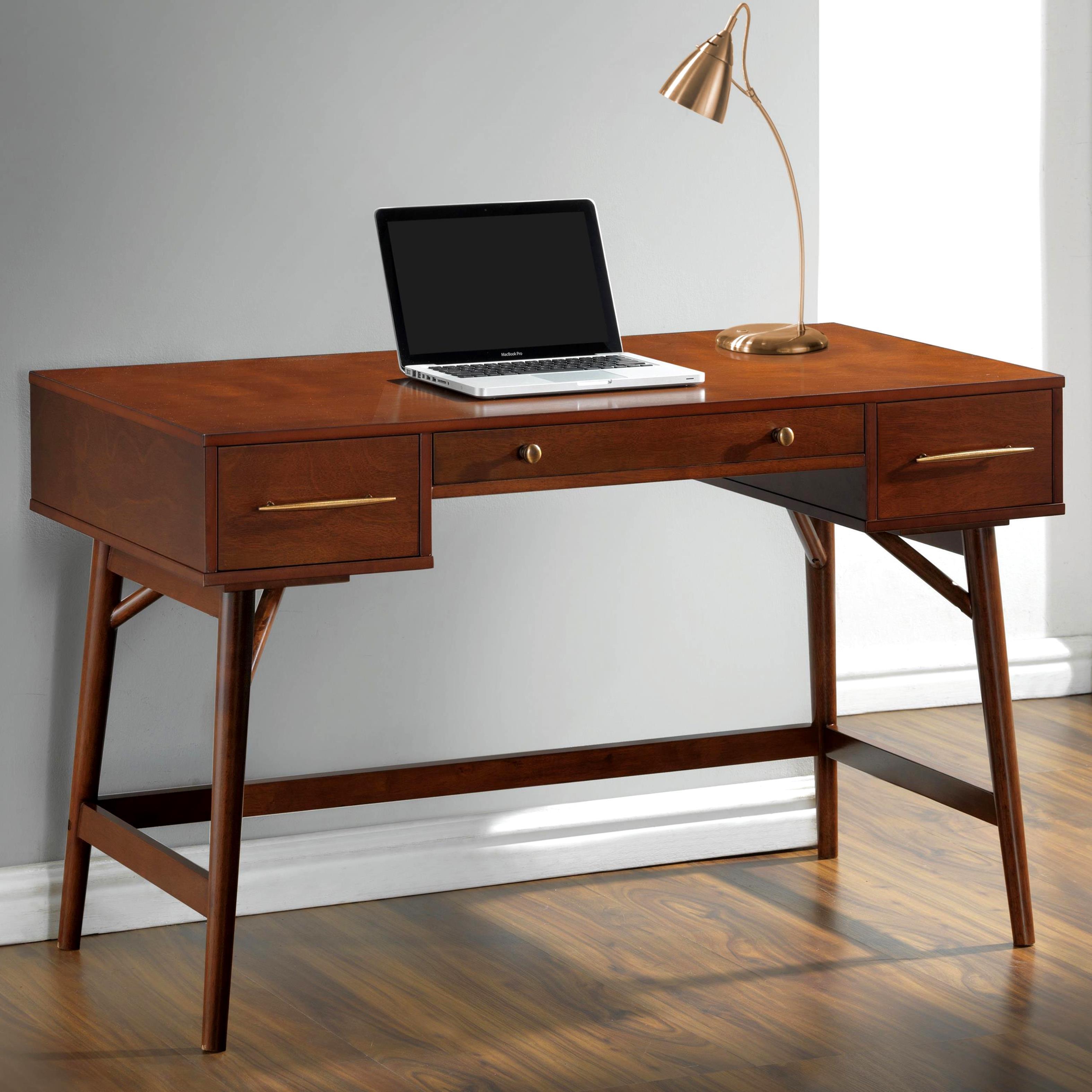 Mid-Century Modern Design Home Office Writing/ Computer D...
