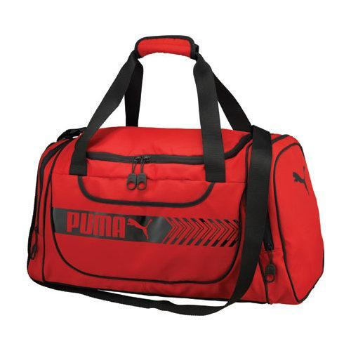 ac3013ec35a3 Shop PUMA Axium Duffel Red Black - On Sale - Free Shipping On Orders Over   45 - Overstock.com - 11817997