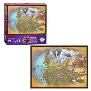 USAopoly Nintendo The Legend of Zelda: Majora's Mask Termina Map Collector's Puzzle