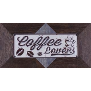Hobbitholeco. 22.25 X 11.25 Coffee Mixed Media Metal Art Decor