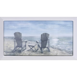 'Sea Side Rest' 23.25-inch x 38.25-inch canvas art