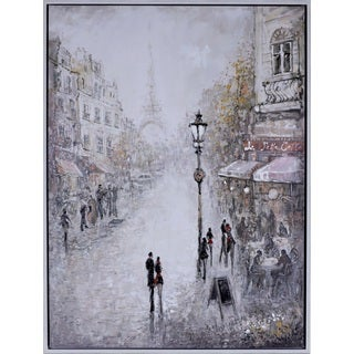 Paris Lovers Canvas Art