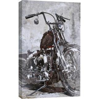 Hobbitholeco. 'Bike' 32 x 47-inch Acrylic Painting