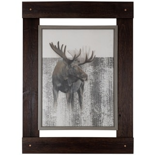 Moose 33.25-inch x 46-inch wall art