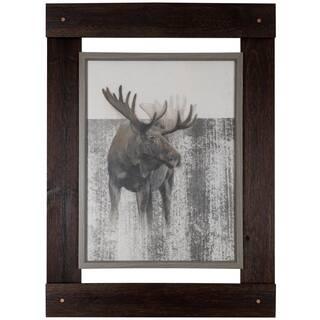 Moose 33.25-inch x 46-inch wall art