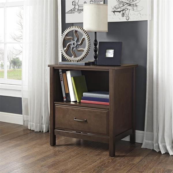 Dorel Living Maxton Mocha Nightstand Free Shipping Today