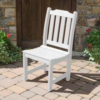 Highwood Eco-friendly Synthetic Wood Lehigh Outdoor Dining Side Chair