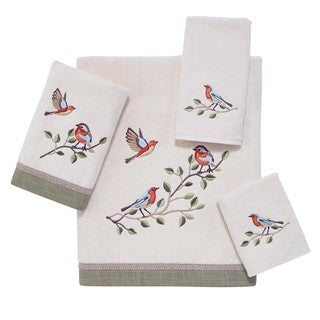 Bird Choir 4-piece Towel Set