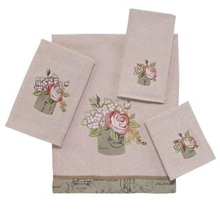 Antique Bouquet 4-piece Towel Set