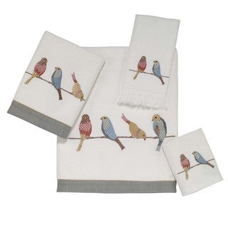 Bird On Wire 4-piece Towel Set