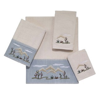 Cactus Landscape 4-piece Towel Set
